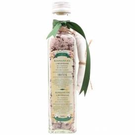 Soľ do kúpeľa s bylinkami relaxačná s ibištekom v skle 260 g