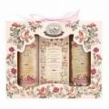 Bohemia Natur darčekové balíčky kozmetiky - rose - gel + mydlo + šampón