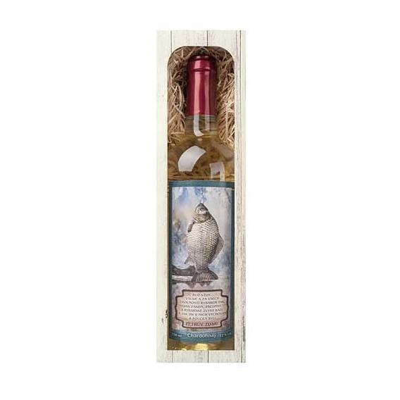 Darčekové víno PETROV ZDAR - biele Chardonnay 750 ml