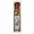 Bohemia Gifts - bílé víno 0,75 l pro rybáře - Chardonnay