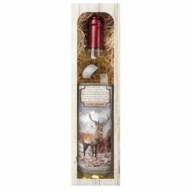 Bohemia Gifts - dárkové bílé víno 0,75 l pro myslivce