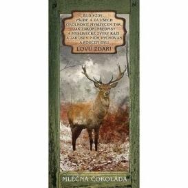 Bohemia Darov - dar mliečnej čokolády 100 g pre poľovníkov