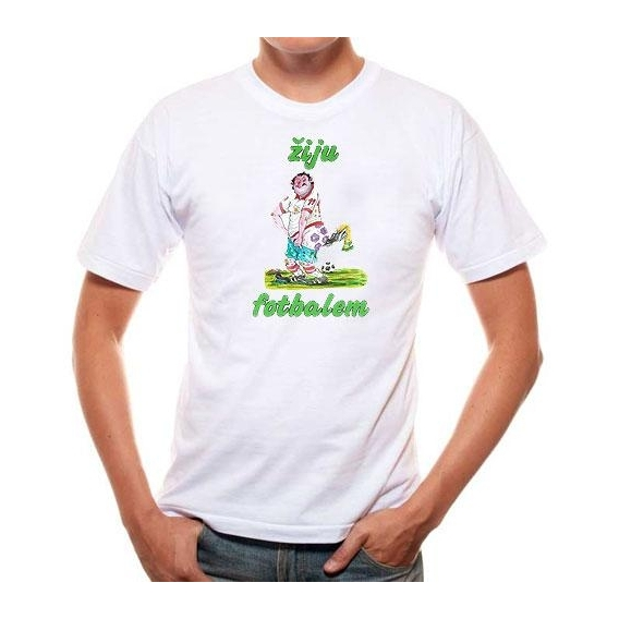Pivrnec - tričko s potlačou - pro football player