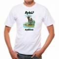Pivrnec - tričko s potiskem pro rybáře