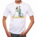 Pivrnec - tričko s potlačou na svadbu - na želanie blaženosti na manželstvo