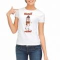 Pivrnec - dámske tričko s potlačou - šál vášeň
