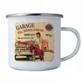 Bohemia Darčeky - tin cup s obrázkom - full service garáž