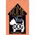 Bohemia Gifts - ručně parfémovaná aromatická karta - dog