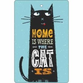 Bohemia Gifts - ručně parfémovaná aromatická karta - cat