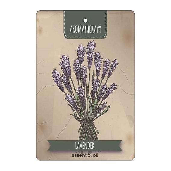 Bohemia Gifts - ručně parfémovaná aromatická karta - Aromatherapy