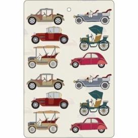 Bohemia Gifts - ručně parfémovaná aromatická karta - auta