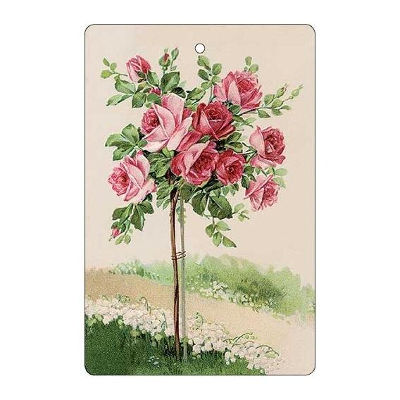Bohemia Dary - handmade parfumované aromatických karty - ruže