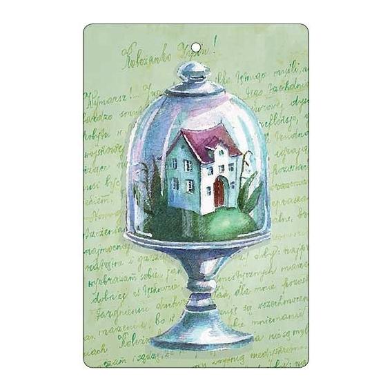 Bohemia Dary - handmade parfumované aromatických karty - dom