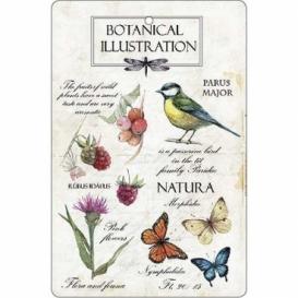 Bohemia Gifts - ručně parfémovaná aromatická karta - natura
