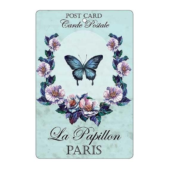 Bohemia Dary - handmade parfumované aromatických karty - motýľ