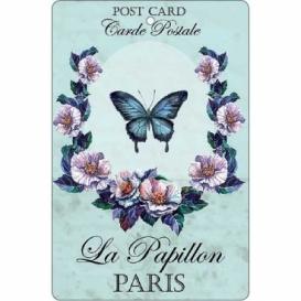 Bohemia Gifts - ručně parfémovaná aromatická karta - motýl