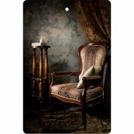 Bohemia Gifts - ručně parfémovaná aromatická karta - křeslo