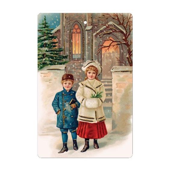 Bohemia Dary - handmade parfumované voňajúce karty - Vianoce