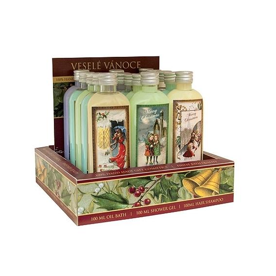 Bohemia Darčeky - Vianočné sprchový gél 100 ml - retail box