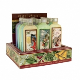 Bohemia Gifts - Vánoční sprchové gely 100 ml - prodejní box