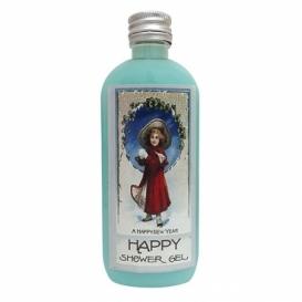 Bohemia Gifts - vánoční sprchový gel 100 ml - aqua minerály