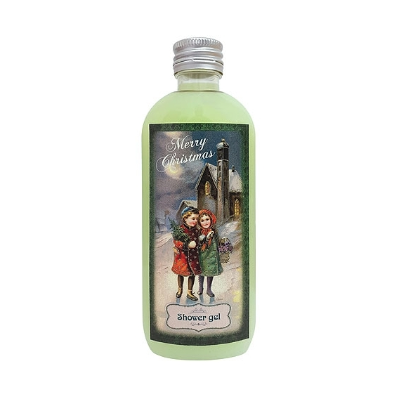Bohemia Darčeky - vianočné sprchový gél 100 ml - oliva