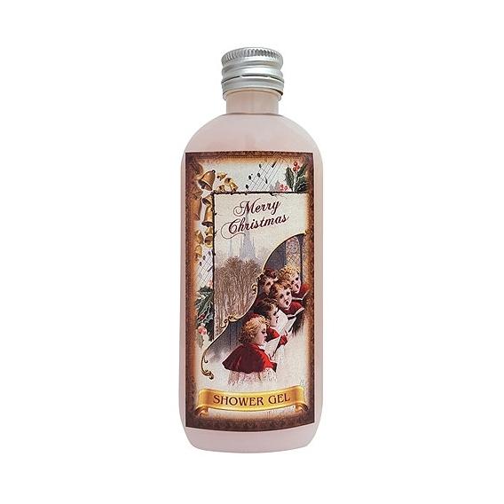 Bohemia Darčeky - vianočné sprchový gél 100 ml - rose hips a rose