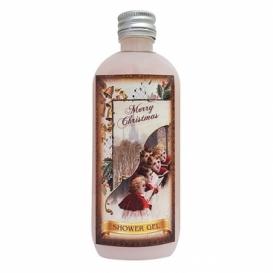 Bohemia Gifts - vánoční sprchový gel 100 ml - šípky a růže