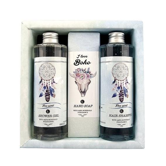 BOHO STYLE - Darčekové kozmetické balenie - Aqua