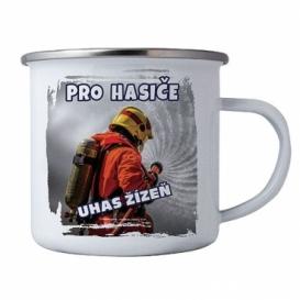 Bohemia Darčeky - tin cup pre hasičov