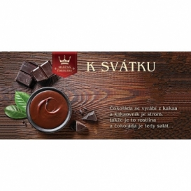 Bohemia Gifts - dárková mléčná čokoláda 100 g - k svátku