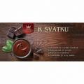 Darčeková mliečna čokoláda K sviatku, 100 g (verzia v SK)