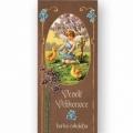 Bohemia Dary - tmavá čokoláda 100 g - veselú veľkú noc - anjel s kurčiat dieťa