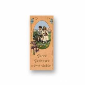 Bohemia Darčeky - mliečne čokolády, 10 g - veľká noc - deti s králik