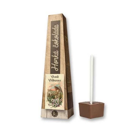 Bohemia Darčeky - horúce čokolády, 30 g - veselú veľkú noc - anjel s jahňacím