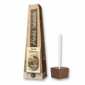 Bohemia Gifts - horká čokoláda 30 g - Veselé Velikonoce - anděl s beránkem