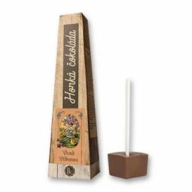 Bohemia Gifts - horká čokoláda 30 g - Veselé Velikonoce - anděl a kuřátka