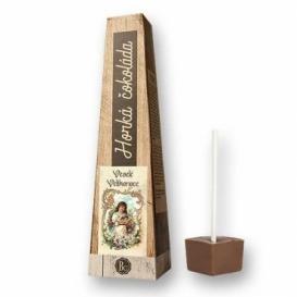 Bohemia Gifts - horká čokoláda 30 g - Veselé Velikonoce - holčička s kočičkou
