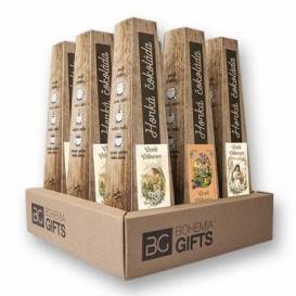 Bohemia Gifts - sada 9 ks - horká čokoláda 30 g - Veselé Velikonoce - mix 3 druhů