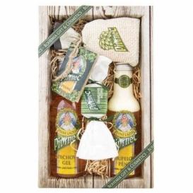 Pivní kosmetika Pivrnec - sada gel, pěna, mýdlo a sůl