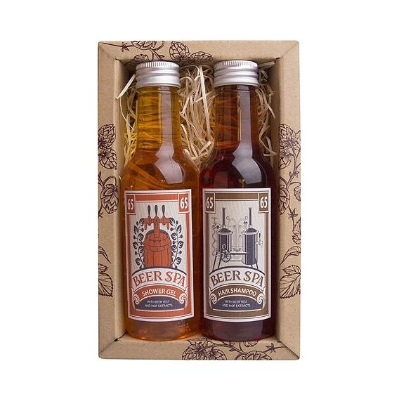 Pivné Kúpele pivo premium kozmetika – darčeková sada gél a šampón