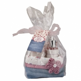 Bohemia Gifts - dárkové balení - Růžové snění - kosmetika šípek a růže
