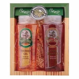 Darčekové balenie Beer SPA - sprchový gél 250 ml, vlasový šampón 250 ml