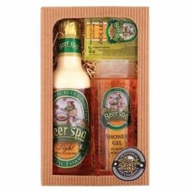 Beer Spa pivní kosmetika – dárkový set  -  gel, pěna a mýdlo