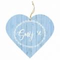 Bohemia Darčeky – dekoratívne drevené srdce 13 cm – smiať
