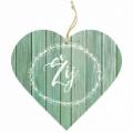 Bohemia Darčeky – dekoratívne drevené srdce 13 cm – live
