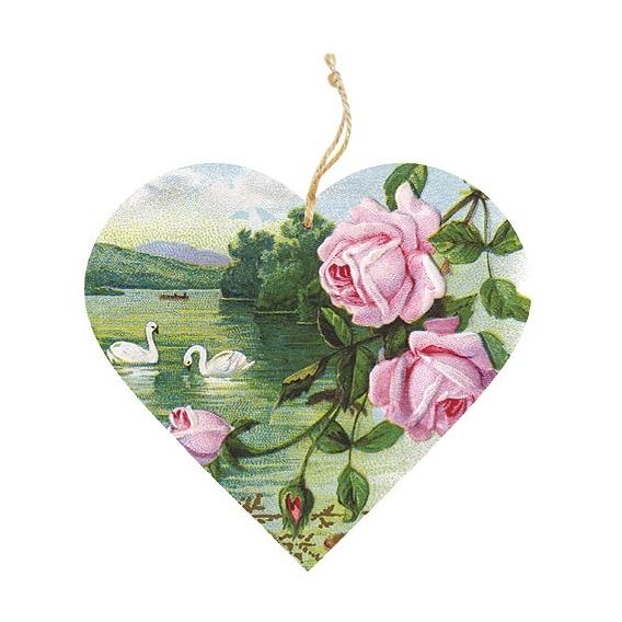 Bohemia Darčeky - drevené vonítko v pranie - rose