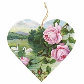 Bohemia Gifts - dřevěné vonítko do prádla - růže