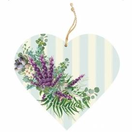 Bohemia Gifts - dřevěné vonítko do prádla - levandule