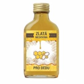 Bohemia Gifts - zlatá medovina 100 ml - pro dědu